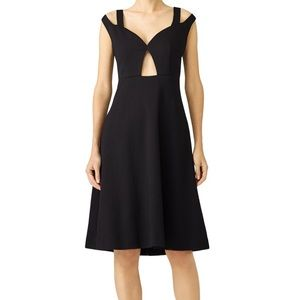 """Carven """"Lys""""-Cut Out Flare Dress"""